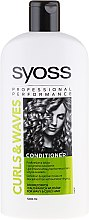 Parfumuri și produse cosmetice Balsam pentru păr creț - Syoss Curls & Waves Conditioner