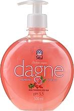 "Parfumuri și produse cosmetice Săpun lichid ""Trandafir"" - Seal Cosmetics Dagne Liquid Soap"
