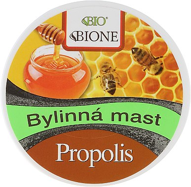 Unguent pentru corp - Bione Cosmetics Honey + Q10 Herbal Cream Propolis