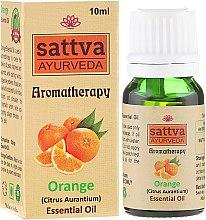 """Parfumuri și produse cosmetice Ulei esențial """"Portocală"""" - Sattva Ayurveda Orange Essential Oil"""