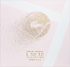 Parfumuri și produse cosmetice Lacoste Eau de Lacoste L.12.12 Pour Elle Sparkling - Set (edt/90ml + sh/gel/150ml)