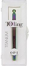 Набор - O.P.I. Tooling Dexterity Titanium (tool/1pcs+cuticule/treat/30ml) — фото N1