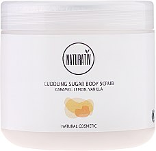 Parfumuri și produse cosmetice Peeling de corp cu zahăr - Naturativ Cuddling Body Sugar Scrub