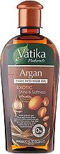 Parfumuri și produse cosmetice Ulei de păr îmbogățit cu argan - Dabur Vatika Argan Enriched Hair Oil
