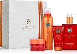 Parfumuri și produse cosmetice Set - Rituals The Ritual Of Happy Buddha (sh/gel/200ml + b/scrub/125g + b/cr/70ml + soap/300ml)
