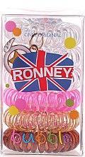 Parfumuri și produse cosmetice Elastice pentru păr - Ronney Professional Funny Ring Bubble 9