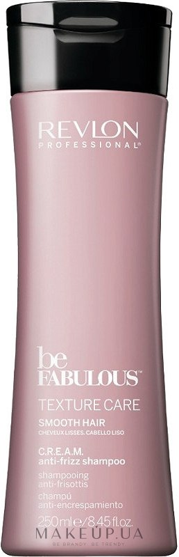 Șampon tonifiant pentru păr - Revlon Professional Be Fabulous Texture Care Smooth Shampoo — Imagine 250 ml