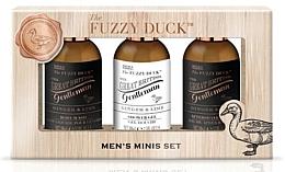 Parfumuri și produse cosmetice Set - Baylis & Harding Men's Fuzzy Duck Ginger & Lime Luxury Grooming Essentials (ash/balm/100ml+shm/100ml+sh/gel/100ml)