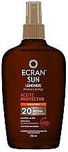 Parfumuri și produse cosmetice Ulei cu protecție solară pentru corp - Ecran Sun Lemonoil Oil Spray SPF20