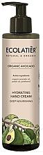 """Parfumuri și produse cosmetice Cremă de mâini """"Nutriție intensivă"""" - Ecolatier Organic Avocado Hydrating Hand Cream"""