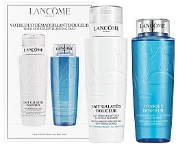 Parfumuri și produse cosmetice Set - Lancome Duo Douceur Cleanser (ton/400ml + milk/400ml)