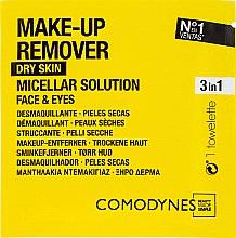 Parfumuri și produse cosmetice Șervețele demachiante - Comodynes Make Up Remover Micellar Solution Easy Cleanser