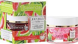 Parfumuri și produse cosmetice Mască-peeling hidratant cu pepene verde și aloe - Bielenda Juicy Jelly