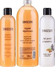 Parfumuri și produse cosmetice Set - BingoSpa (sh/cr/300ml + show/gel/300ml + bubble bath/1000ml)