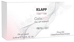 Parfumuri și produse cosmetice Set - Klapp CollaGen Fill-Up Therapy Refill Set
