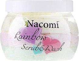 Parfumuri și produse cosmetice Scrub pentru corp cu aromă de pepene verde - Nacomi Rainbow Scrub & Wash