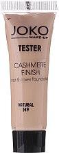 Parfumuri și produse cosmetice Fond de ten - Joko Cashmere Finish Mat & Cover Foundation (Tester)