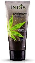 Parfumuri și produse cosmetice Cremă cu ulei de cânepă pentru picioare - India Foot Cream With Cannabis