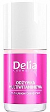 Parfumuri și produse cosmetice Cocktail de vitamine pentru unghii - Delia Cosmetics Active Multivitamin Nail Conditioner