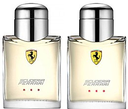 Parfumuri și produse cosmetice Ferrari Scuderia Ferrari Red - Set (edt/75ml + ash/lot/75ml)