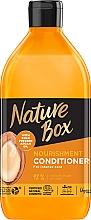 Parfumuri și produse cosmetice Balsam nutritiv cu ulei de argan pentru păr - Nature Box Nourishment Vegan Conditioner With Cold Pressed Argan Oil