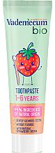 Parfumuri și produse cosmetice Bio pastă de dinți pentru copii - Vademecum Bio Toothpaste