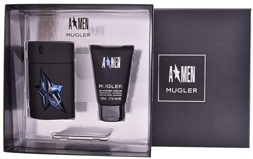 Thierry Mugler A*men - Apă de toaletă (edt/50+sh/gel 50 ml) — Imagine N2