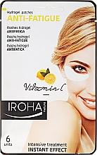 Parfumuri și produse cosmetice Patch-uri sub ochi - Iroha Nature Anti-Fatigue Hydrogel Patches Vitamin C