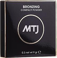 Parfumuri și produse cosmetice Bronzer pentru față - MTJ Cosmetics Bronzing Compact Powder