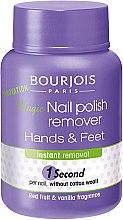 Parfumuri și produse cosmetice Dizolvant pentru lac de unghii - Bourjois Nail Polish Remover Hands&Feet