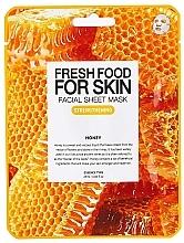 """Parfumuri și produse cosmetice Mască din țesut """"Miere"""" pentru față - Superfood For Skin Facial Sheet Mask Honey Strenghtening"""