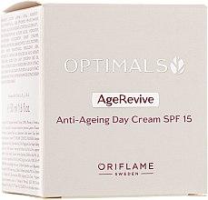 Parfumuri și produse cosmetice Cremă de zi anti-îmbătrânire SPF 15 - Oriflame Optimals Age Revive