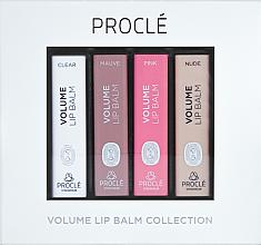 Parfumuri și produse cosmetice Set rujuri de buze, pentru volum - Procle Volume Lip Balm (lip/balm/3.5g x 4)