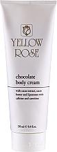 Parfumuri și produse cosmetice Cremă de ciocolată pentru masaj corporal - Yellow Rose Chocolate Body Cream
