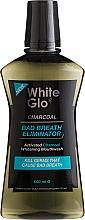 Parfumuri și produse cosmetice Agent de clătire pentru cavitatea bucală - White Glo Charcoal Bad Breath Eliminator Mouthwash