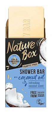 Săpun solid cu ulei de cocos - Nature Box Coconut Oil Shower Bar