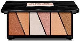 Parfumuri și produse cosmetice Paletă iluminator - Makeup Revolution Shook! Highlighter Palette