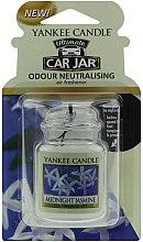 Parfumuri și produse cosmetice Ароматизатор для автомобиля - Yankee Candle Car Jar Ultimate Midnight Jasmine