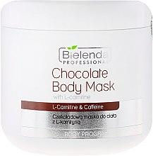 Parfumuri și produse cosmetice Mască pentru corp cu ciocolată și L-carnitină - Bielenda Professional Chocolate Body Mask