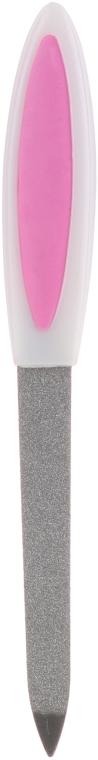 Pilă pentru unghii 13.5 cm, alb + roz, 77104 - Top Choice — Imagine N1