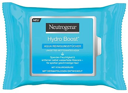 Șervețele umede - Neutrogena Hydro Boost