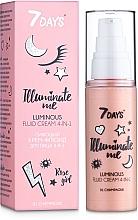 Parfumuri și produse cosmetice Cremă-fluid 4 în 1 pentru față - 7 Days Illuminate Me Luminous Fluid Cream 4in1