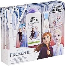 Духи, Парфюмерия, косметика Corine De Farme Disney Frozen 2 - Набор (edt/30ml+sh/gel/250ml+accessories)