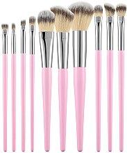Parfumuri și produse cosmetice Set pensule profesionale pentru machiaj, 10 buc., roz - Tools For Beauty