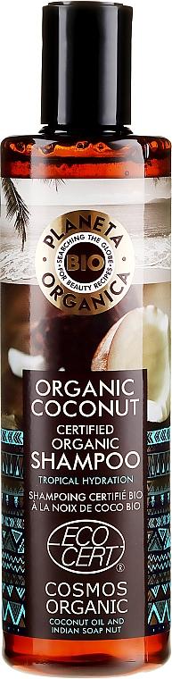 Șampon pentru păr - Planeta Organica Organic Coconut Natural Hair Shampoo — фото N1