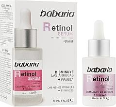 Parfumuri și produse cosmetice Ser facial - Babaria Retinol Serum
