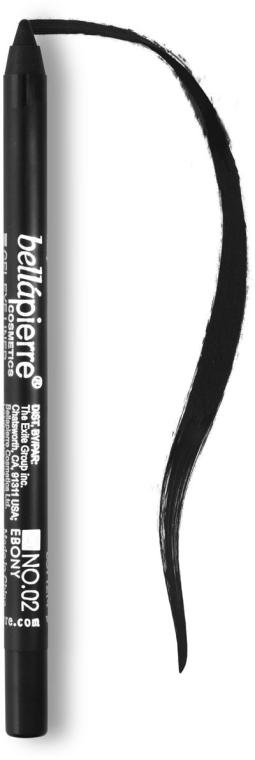 Карандаш для глаз - Bellapierre Cosmetics Waterproof Gel Eye Liner — фото N1