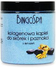 Parfumuri și produse cosmetice Sare de baie pentru unghii si cuticule cu colagen si ginseng - BingoSpa