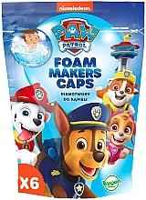 Parfumuri și produse cosmetice Spumă de baie, 6buc - Nickelodeon Paw Patrol