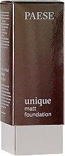 Parfumuri și produse cosmetice Fond de ten - Paese Unique Matt Foundation